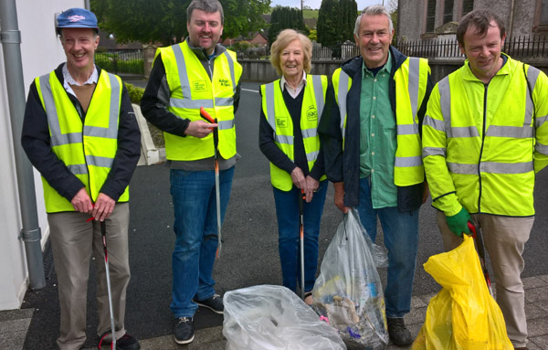 Litter Pick In Saintfield